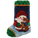 Roly Poly Santa Stocking